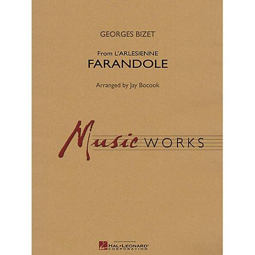Hal Leonard Farandole (from L'arlesienne) Concert Band Level 4 Composed by Jay Bocook