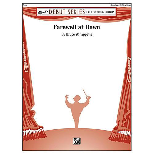 Alfred Farewell at Dawn Concert Band Grade 0.5