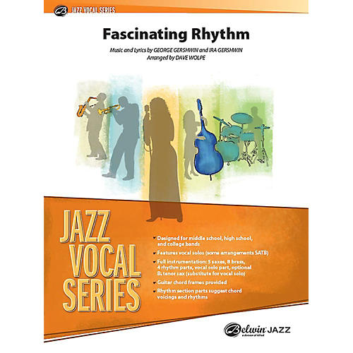 Alfred Fascinating Rhythm Jazz Band Grade 3.5 Set