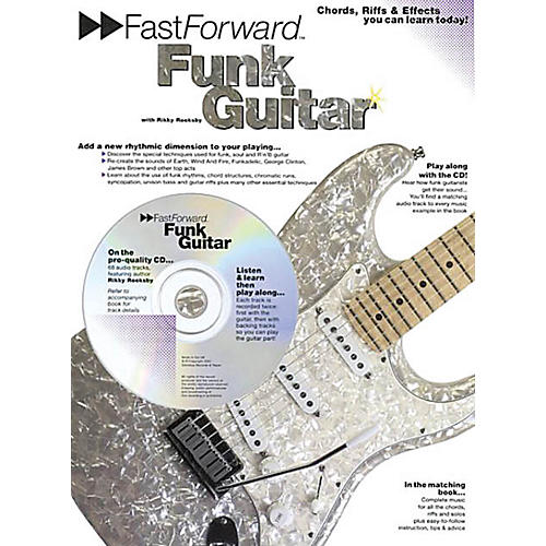 Music Sales Fast Forward - Funk Guitar Music Sales America Series Softcover with CD Written by Rikky Rooksby