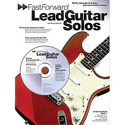 Music Sales Fast Forward - Lead Guitar Solos Music Sales America Series Softcover with CD Written by Rikky Rooksby