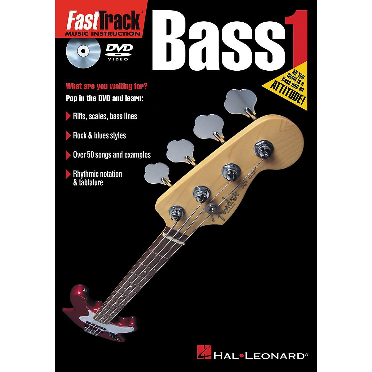 Hal Leonard FastTrack Bass 1 (DVD)