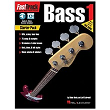 Hal Leonard FastTrack Bass Method - Starter Pack Book/Online Audio and Video