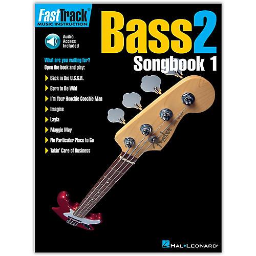 Hal Leonard FastTrack Bass Songbook 1 Level 2 (Book/Online Audio)