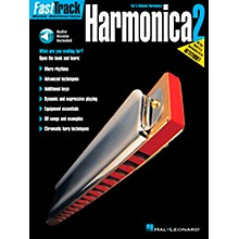Hal Leonard FastTrack Harmonica Book 2 Book/CD for C Diatonic Harmonica