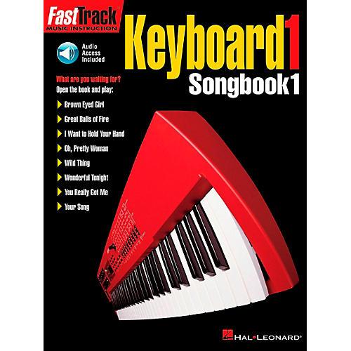 Hal Leonard FastTrack Keyboard Level 1 Supplemental Songbook with CD