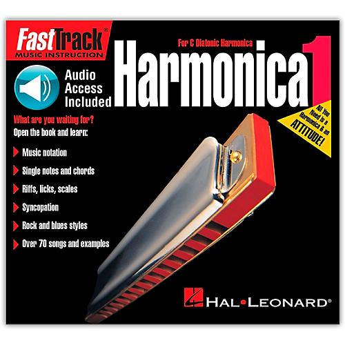 Hal Leonard FastTrack Mini Harmonica Book 1 Book/CD
