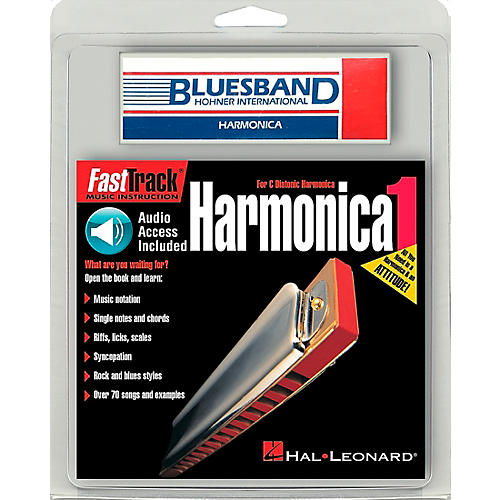 Hal Leonard FastTrack Mini Harmonica Mini Pack