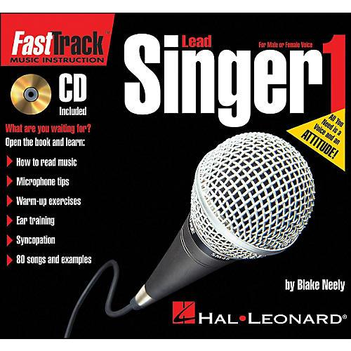 Hal Leonard FastTrack Mini Lead Singer Method Book 1 Book/CD