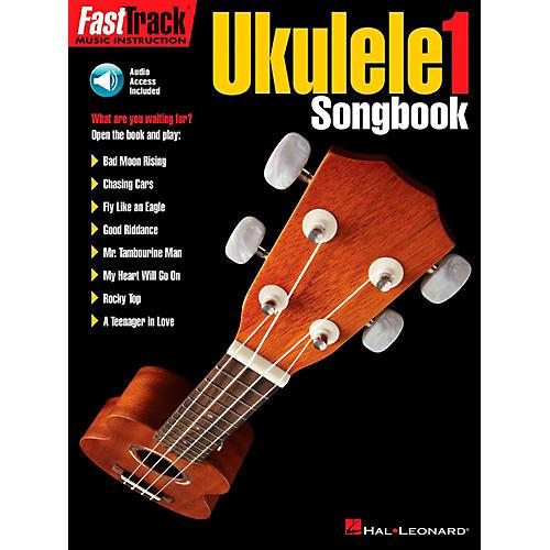 Hal Leonard FastTrack Ukulele Songbook-Level 1 Book/Audio Online