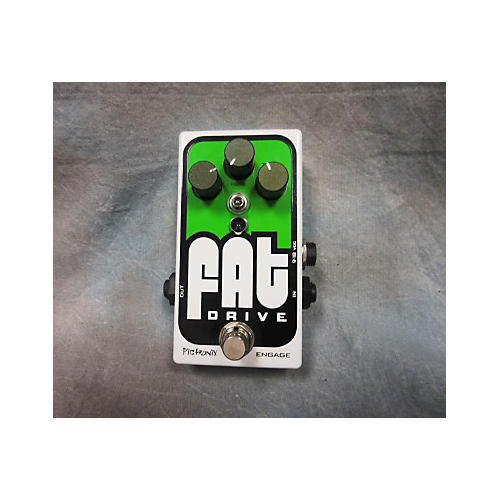 Pigtronix Fat Drive Tube Sound Overdrive Effect Pedal
