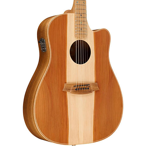 Cole Clark Fat Lady 2 Series Australian Eco Redwood/Blackwood Dreadnought Acoustic-Electric Guitar