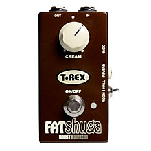 T-Rex Engineering Fat Shuga Boost with Reverb Guitar Effects Pedal