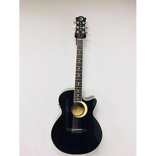 Luna Guitars Fau-ECL Fauna Acoustic Electric Guitar