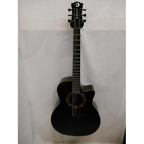 Luna Guitars Fau Nox Acoustic Electric Guitar