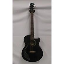 47dcc7bf39 Luna Guitars Fauna Koi Acoustic Electric Guitar