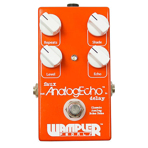 Wampler Faux Analog Echo/Delay Guitar Effects Pedal
