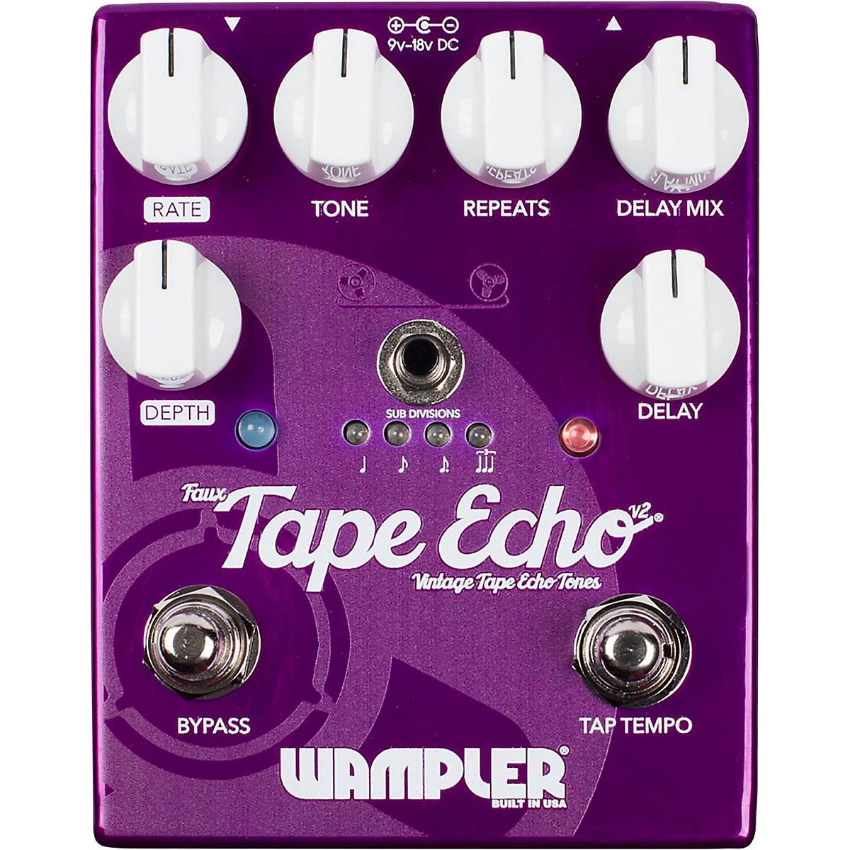 Wampler Faux Tape Echo Delay Pedal