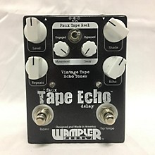 Wampler Faux Tape Echo Effect Pedal