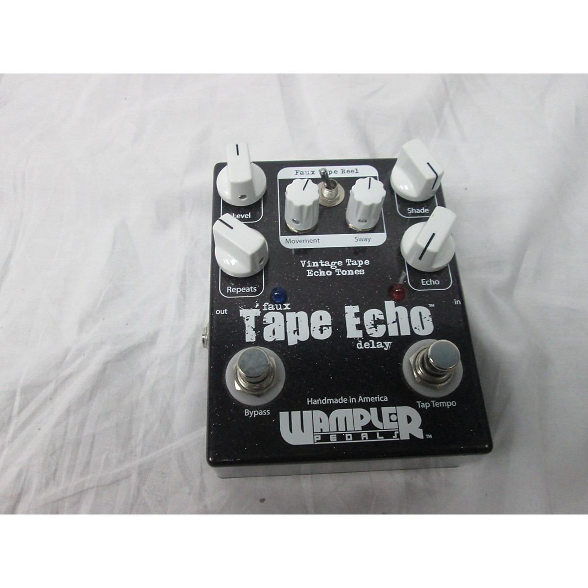 Used Wampler Faux Tape Echo Effect Pedal