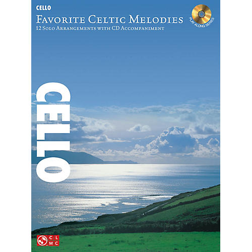 Hal Leonard Favorite Celtic Melodies for Cello Book/CD