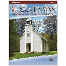 Alfred Favorite Hymns Instrumental Solos Mallet Book & CD Level 2-3