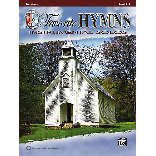 Alfred Favorite Hymns Instrumental Solos Trombone Book & CD