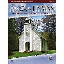 Alfred Favorite Hymns Instrumental Solos Viola Book & CD