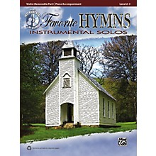 Alfred Favorite Hymns Instrumental Solos Violin Book & CD