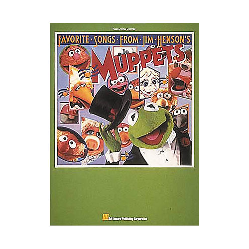 Hal Leonard Favorite Songs From Jim Henson's Muppets Piano/Vocal/Guitar Songbook