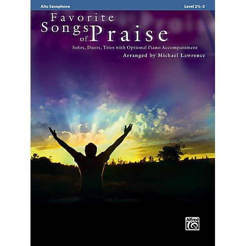 Alfred Favorite Songs of Praise (Alto Sax Version)