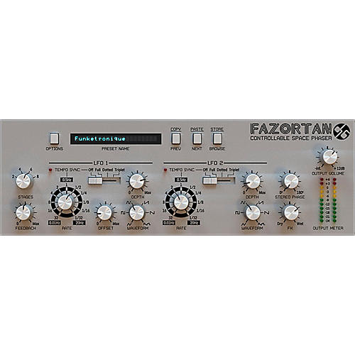 D16 Group Fazortan Controllable Space Phaser Plug-in (VST/AU) Software Download