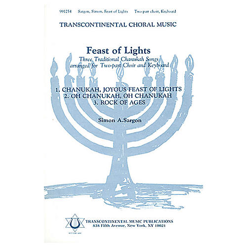 Transcontinental Music Feast Of Lights 2-Part arranged by Simon Sargon