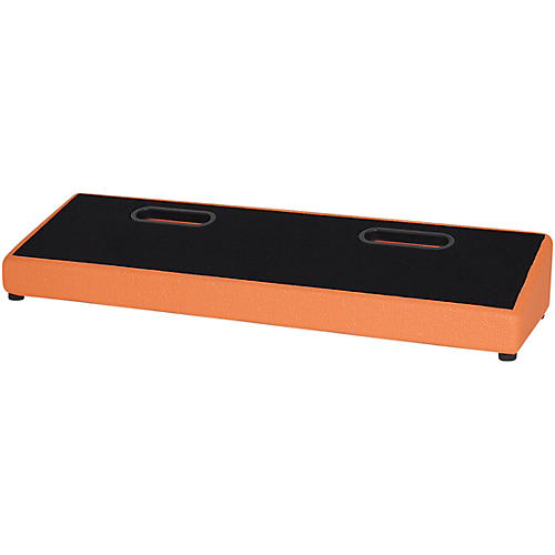 Blackbird Pedalboards Feather XL Pedalboard and Gig Bag Orange Tolex