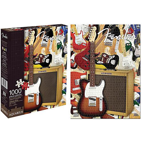 Hal Leonard Fender Collage 1,000 Piece Jigsaw Puzzle