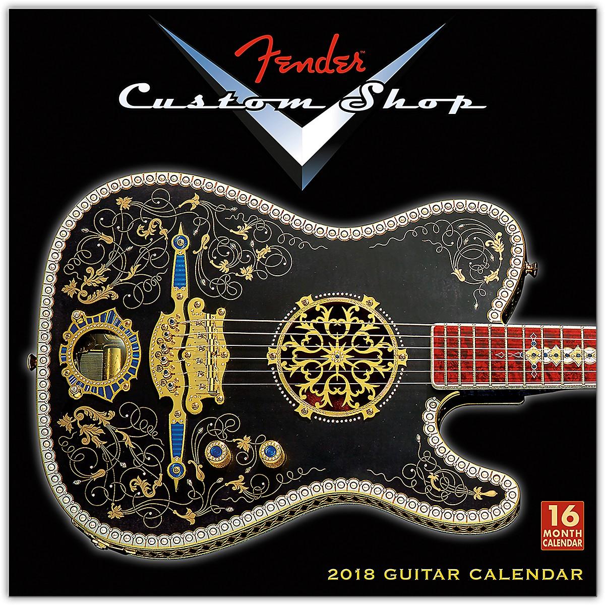 Browntrout Publishing Fender Custom Shop 2018 Wall Calendar