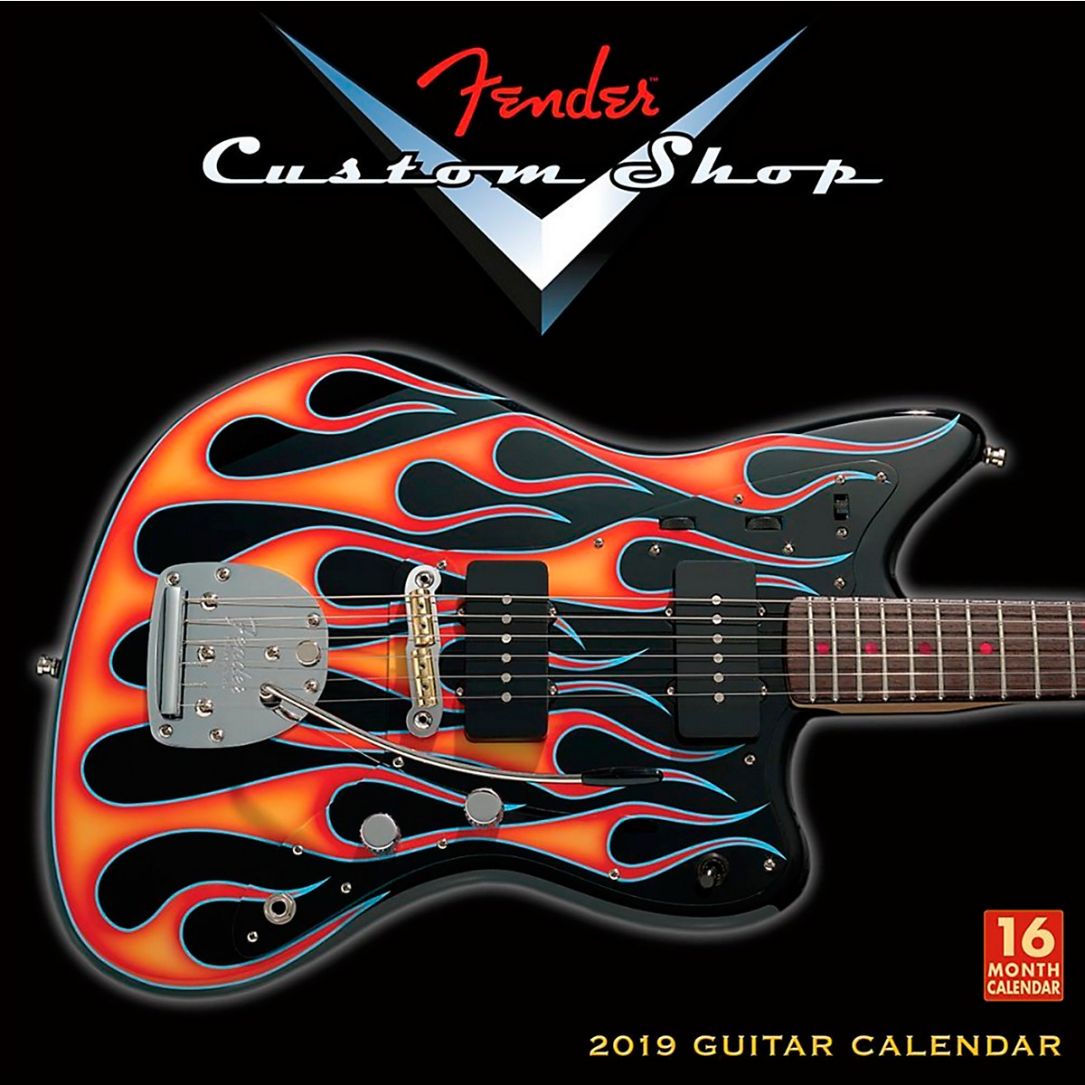 Browntrout Publishing Fender Custom Shop 2019 Calendar