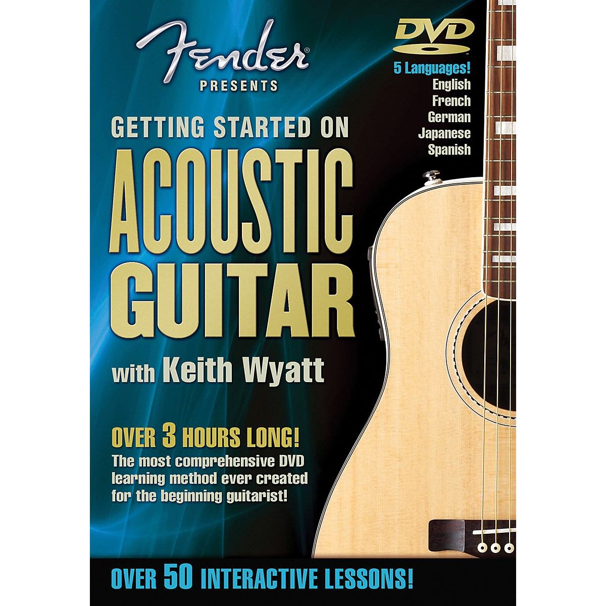 Hal Leonard Fender DVD Package - Getting Started On Acoustic Guitar