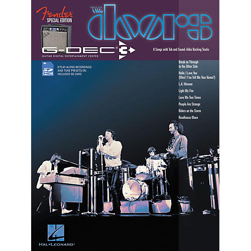 Hal Leonard Fender G-Dec Doors Guitar Play-Along Songbook/SD Card