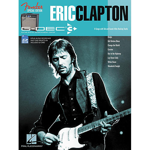 Hal Leonard Fender G-Dec Eric Clapton Play-Along Guitar Songbook/SD Card