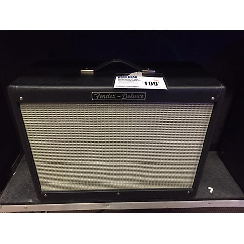 Fender Fender Hot Rod Deluxe 112 80W 1x12 Guitar Extension Cab Black Straight Guitar Cabinet