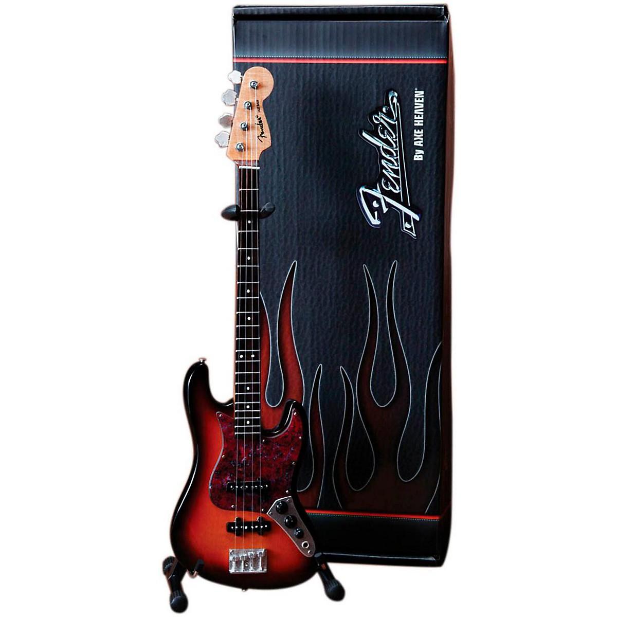 Axe Heaven Fender Jazz Bass Sunburst Miniature Guitar Replica Collectible