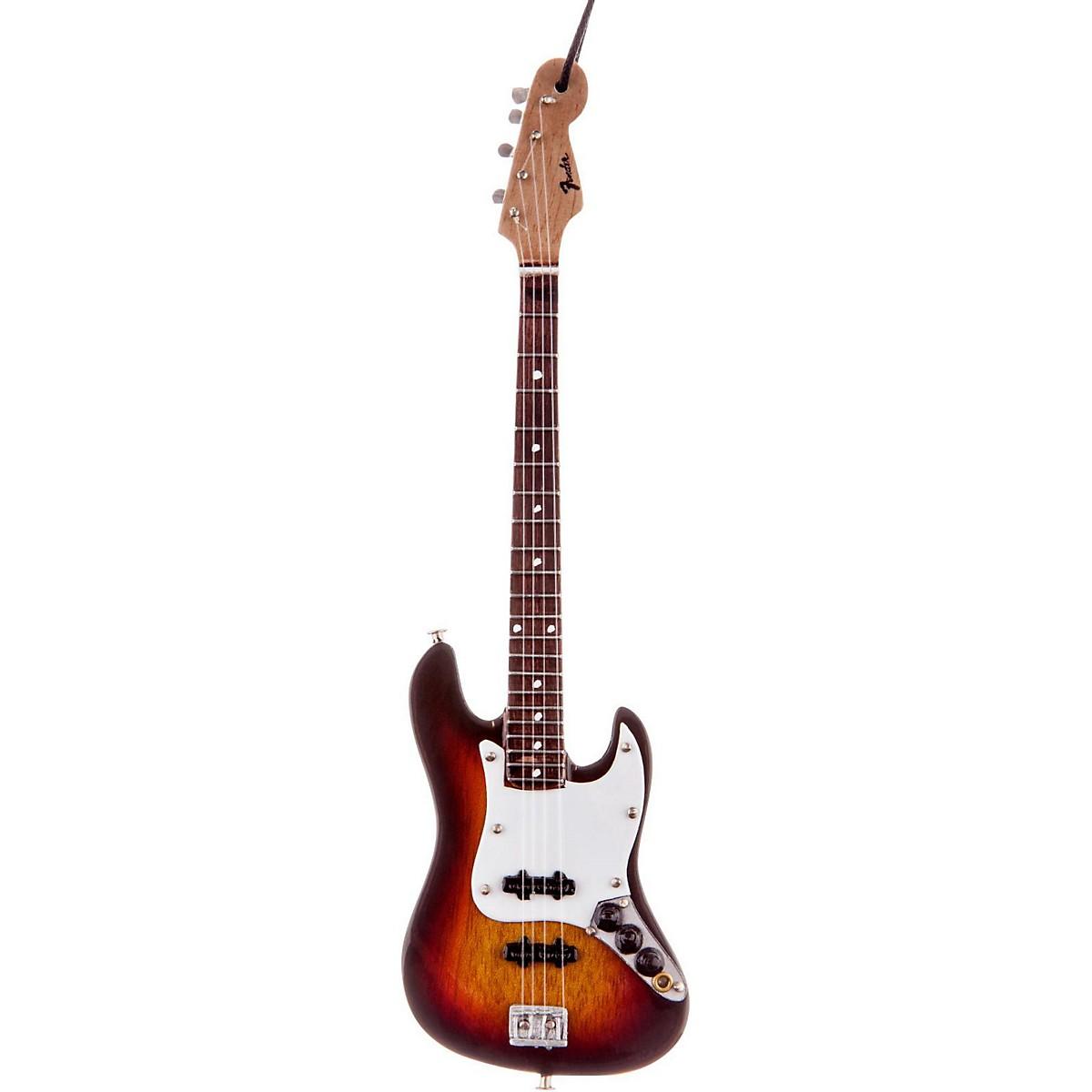Axe Heaven Fender Sunburst Jazz Bass 6 In. Holiday Ornament