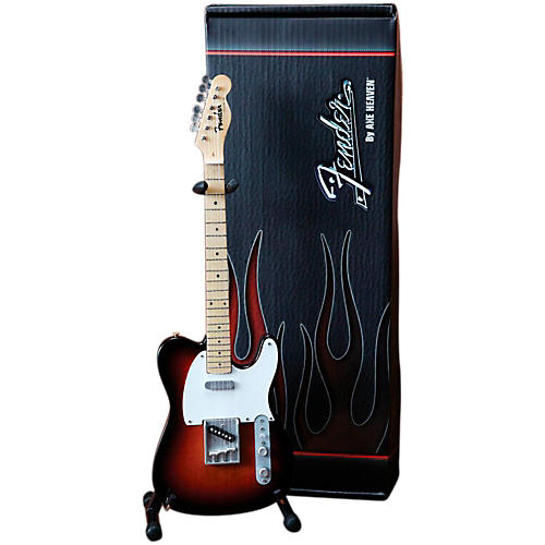 Axe Heaven Fender Telecaster Classic Sunburst Miniature Guitar Replica Collectible