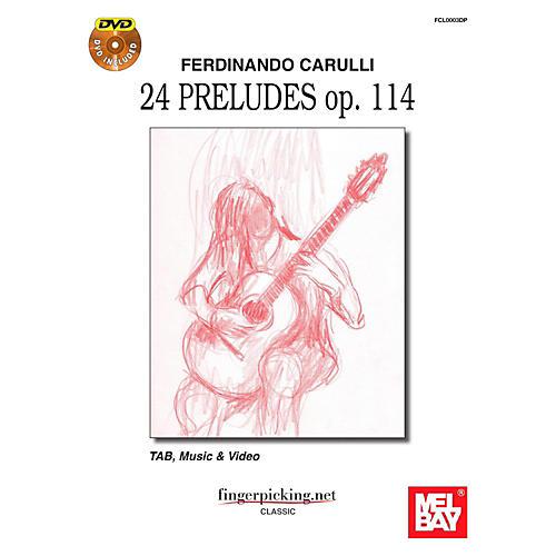 Mel Bay Ferdinando Carulli: 24 Pruludes op. 114