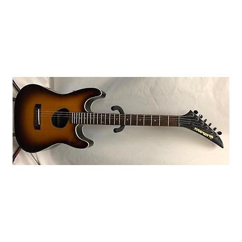used kramer ferrington acoustic electric guitar 2 color sunburst guitar center. Black Bedroom Furniture Sets. Home Design Ideas