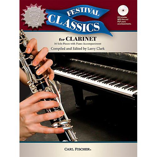 Carl Fischer Festival Classics for Clarinet Book