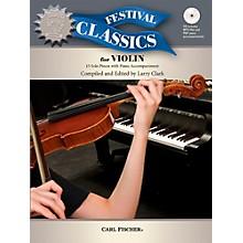 Carl Fischer Festival Classics for Violin Book with CD