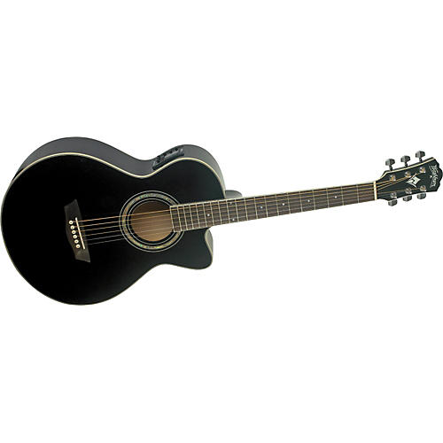 Washburn Festival EA10 Acoustic Cutaway Electric Petite Jumbo Guitar With 4-Band EQ