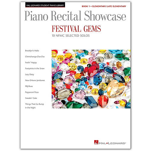 Hal Leonard Festival Gems Book 1-10 Outstanding NFMC Elementary/Late Elementary Solos